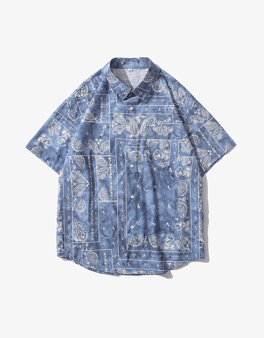 渲染變形蟲花襯衫