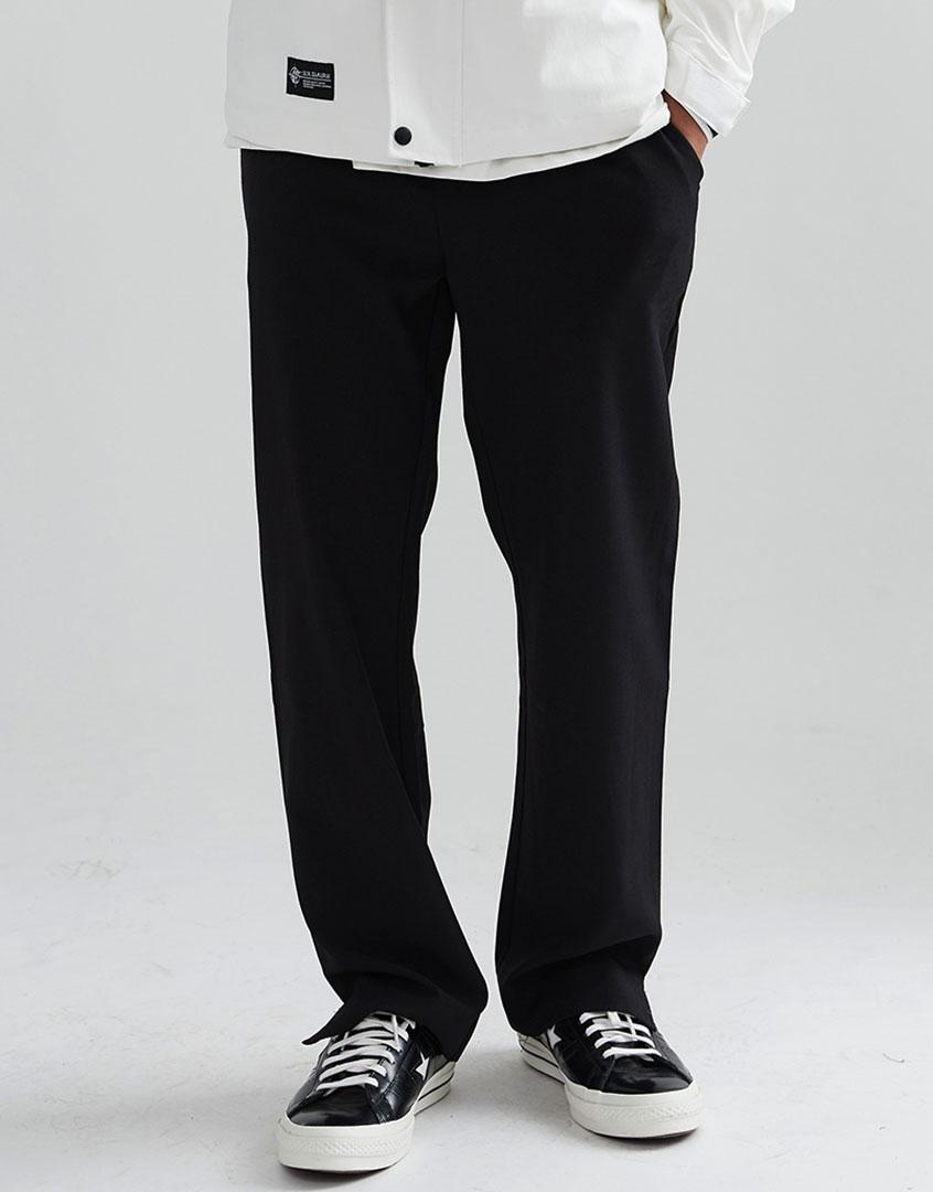 素色開叉西裝褲