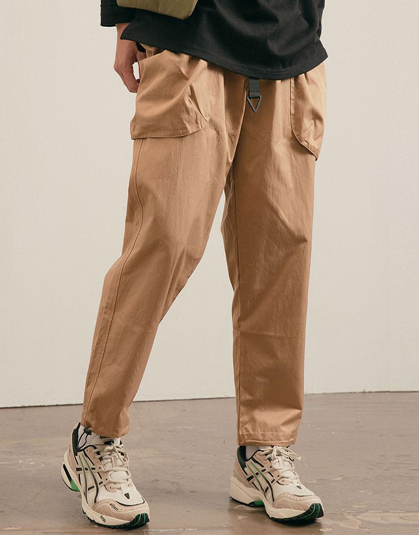 山系大口袋休閒長褲