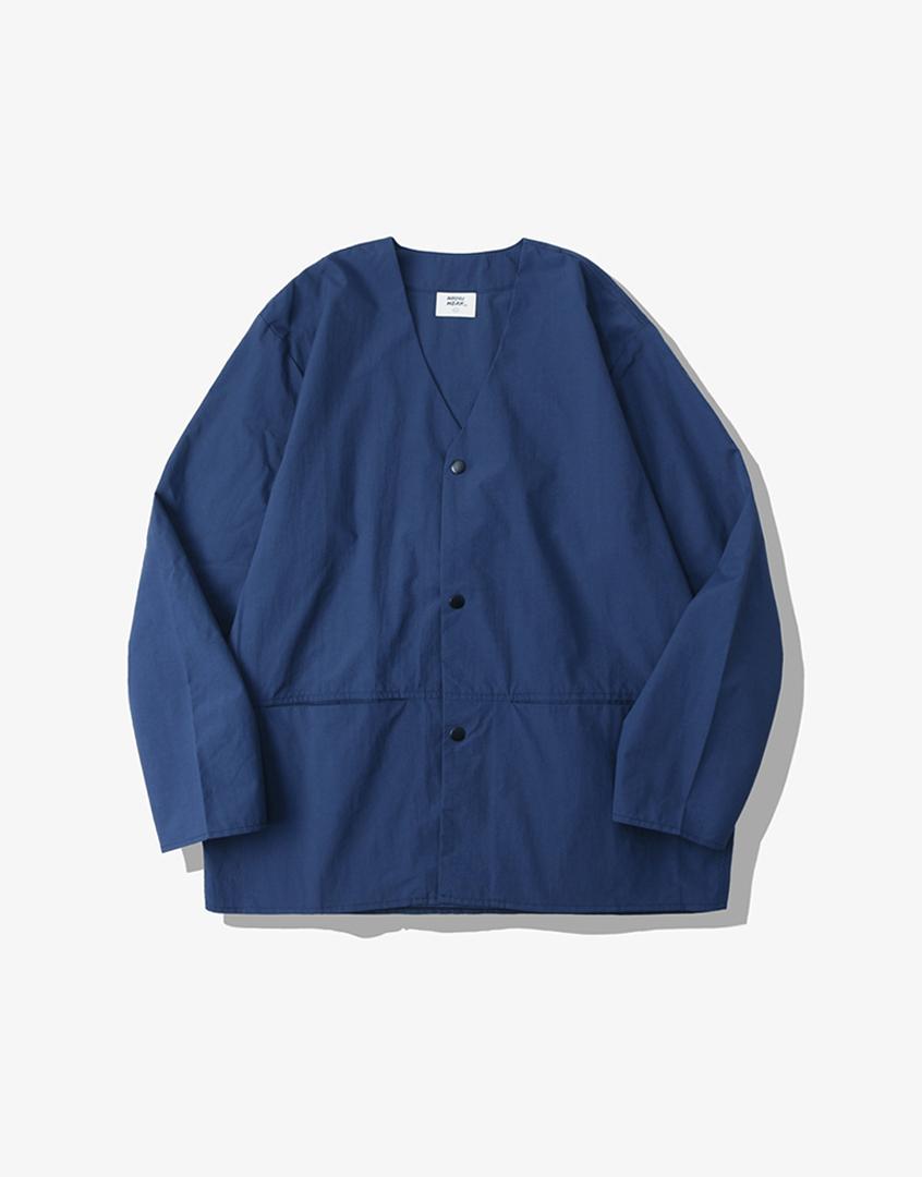 防潑水罩衫開襟外套