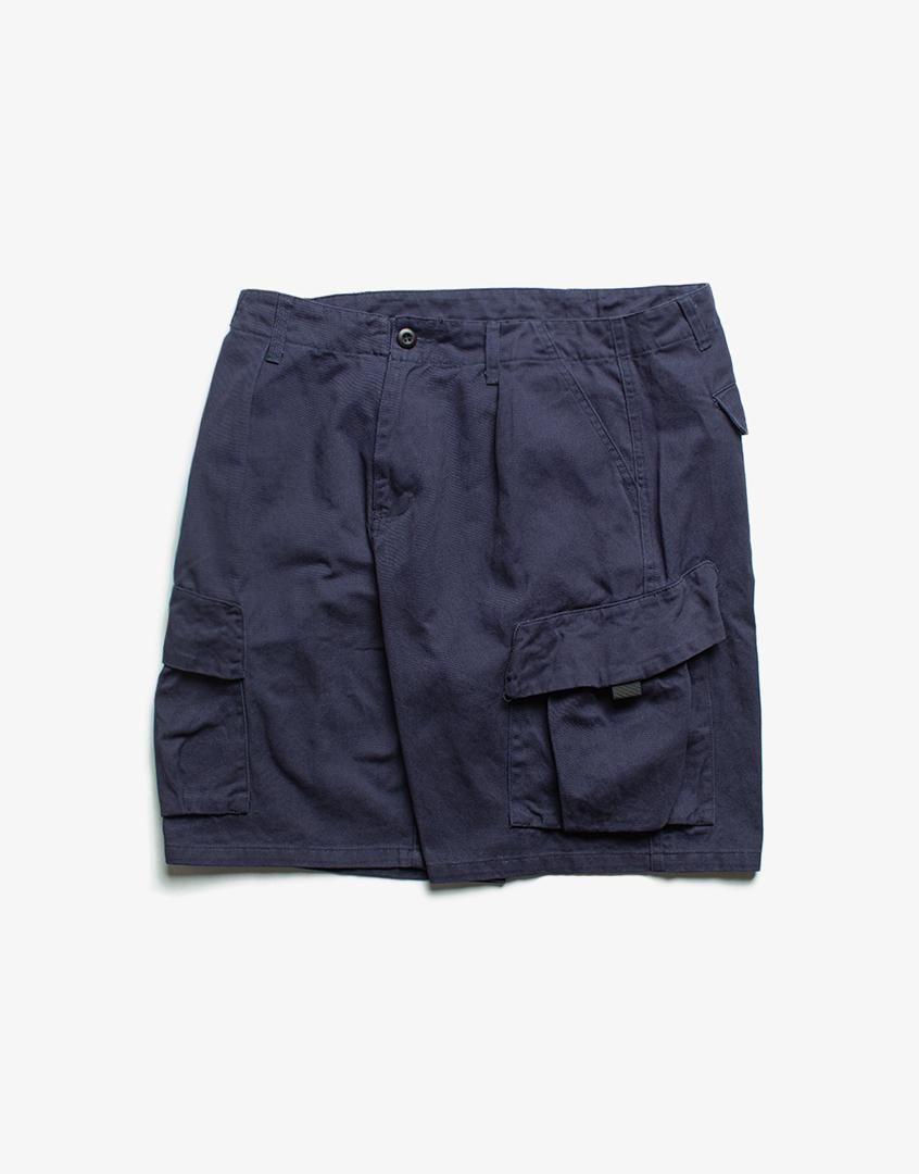 斜口袋工作短褲