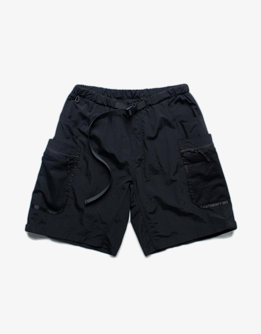 機能網布軍風短褲