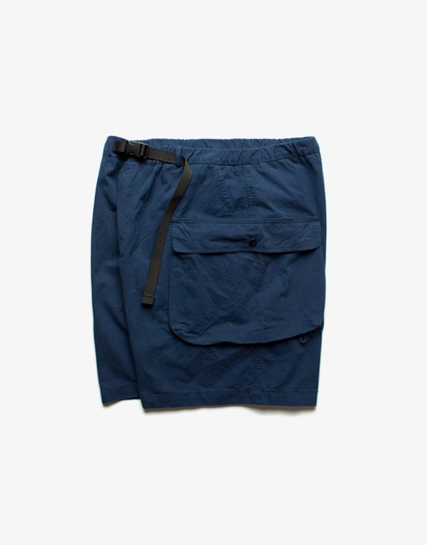 寬鬆口袋工裝短褲