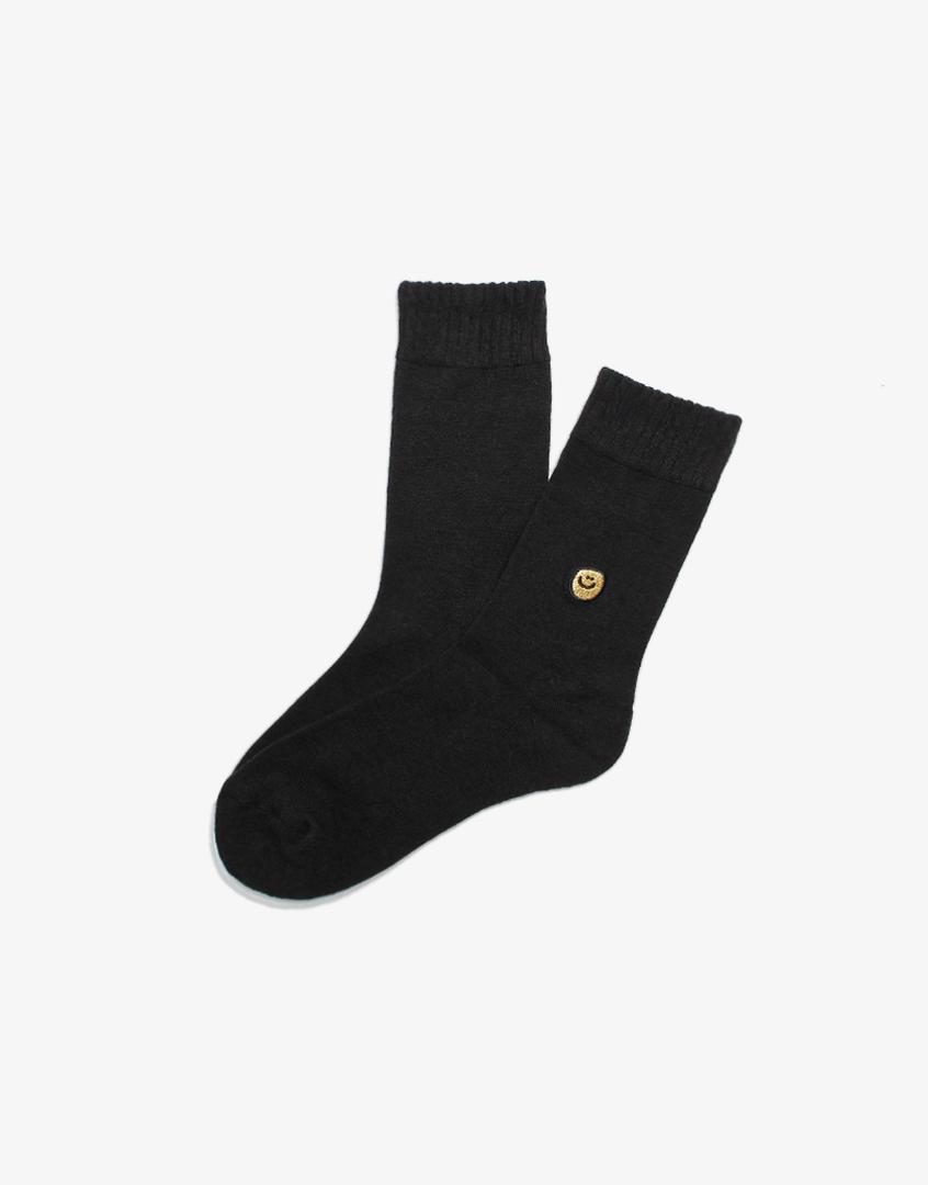 笑臉刺繡長襪