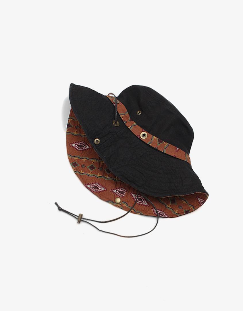 民俗風圖騰漁夫帽