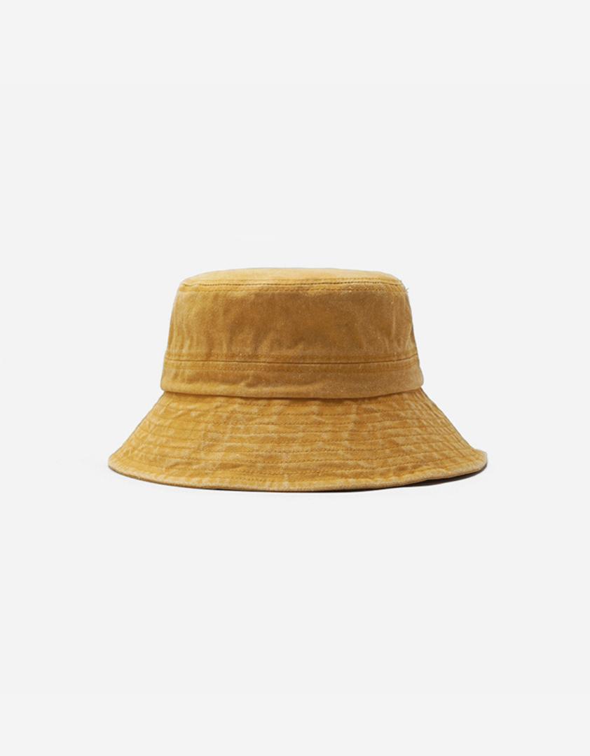 水洗素色漁夫帽