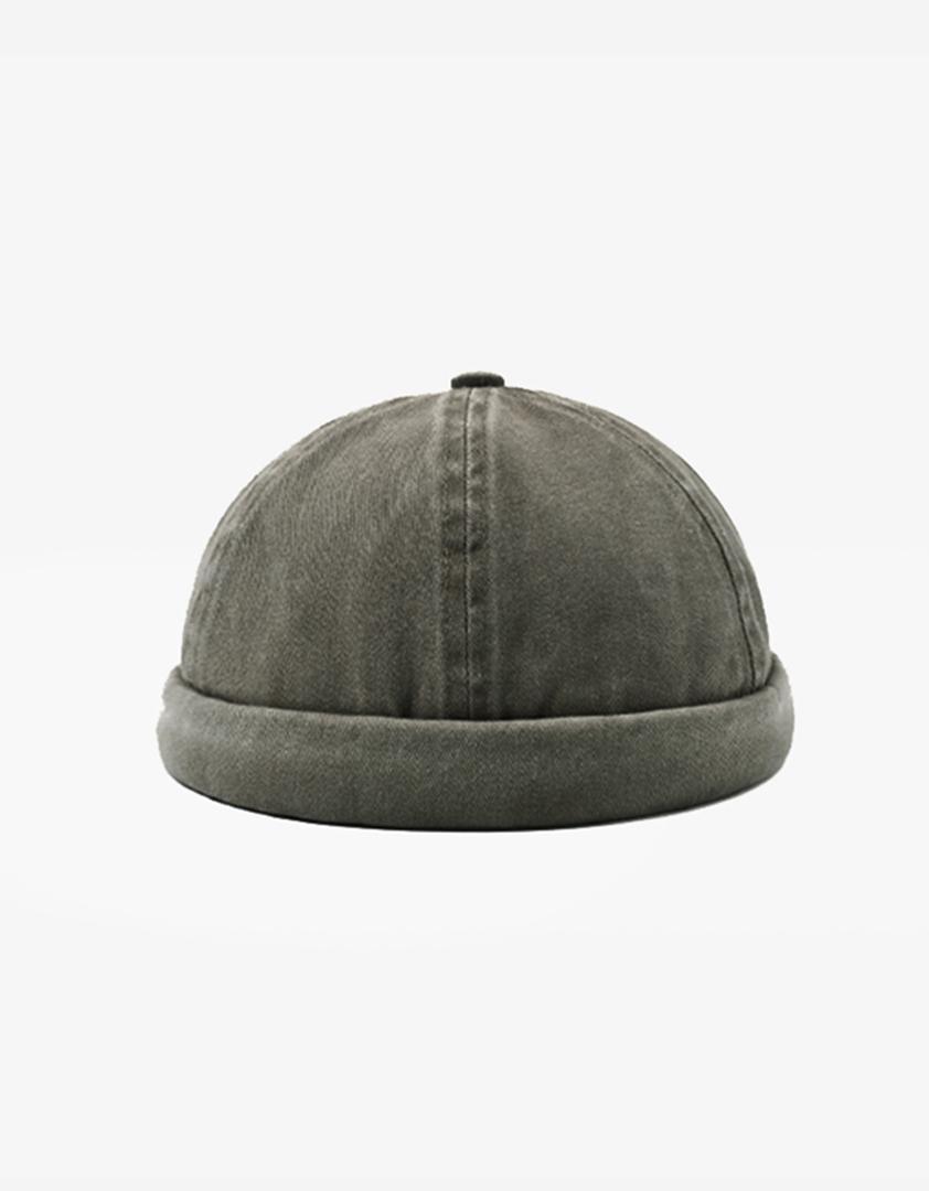 仿舊素色水洗水兵帽