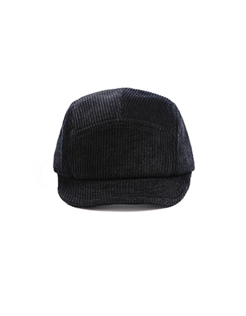 燈芯絨五分割短帽簷帽