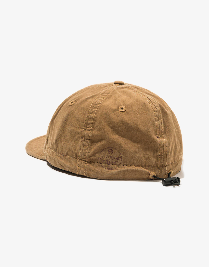 水洗短帽檐工裝帽