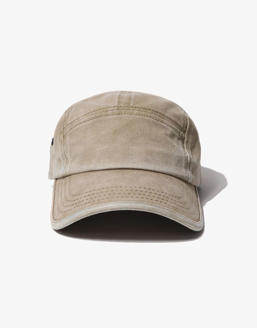 水洗五分割短帽檐棒球帽
